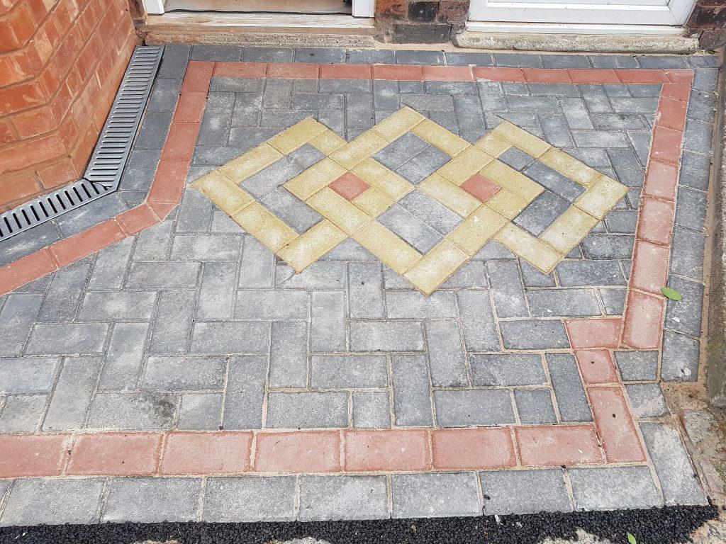 block paving for front door
