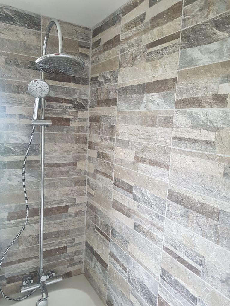 shower/bath tub renovation